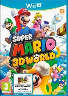 Super Mario 3D World Nintendo Wii U clé pas cher à télécharger