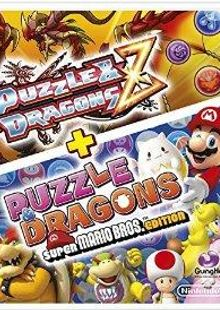 Puzzle and Dragons Z + Puzzle and Dragons Super Mario Bros. Edition Nintendo 3DS/2DS clé pas cher à télécharger