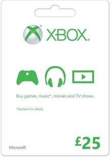 Microsoft Gift Card - £25 (Xbox One/360) billig Schlüssel zum Download