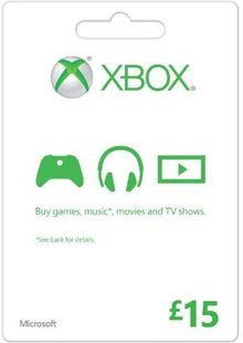 Microsoft Gift Card - £15 (Xbox One/360) billig Schlüssel zum Download