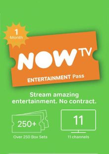 NOW TV - 1 Month Entertainment Pass cheap key to download