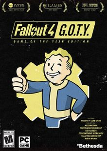 Fallout 4: Game of the Year Edition PC chiave a buon mercato per il download