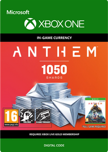 Anthem 1050 Shards Pack Xbox One billig Schlüssel zum Download