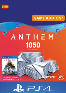 Anthem 1050 Shards PS4 (Spain) cheap key to download