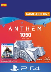 Anthem 1050 Shards PS4 (Spain) billig Schlüssel zum Download