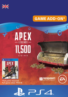 Apex Legends 11500 Coins PS4 (UK) cheap key to download