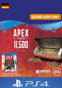 Apex Legends 11500 Coins PS4 (Germany) cheap key to download