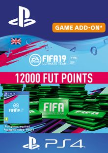 12000 FIFA 19 Points PS4 PSN Code - UK account cheap key to download
