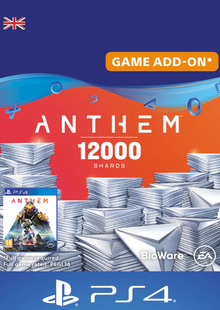 Anthem 12000 Shards PS4 (UK) billig Schlüssel zum Download