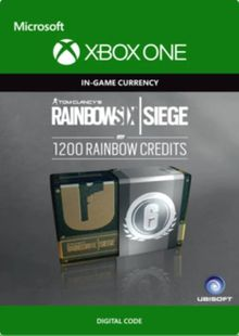 Tom Clancy's Rainbow Six Siege 1200 Credits Pack Xbox One billig Schlüssel zum Download