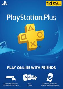 PlayStation Plus (PS ) - 14 Day Trial Subscription (UK) billig Schlüssel zum Download