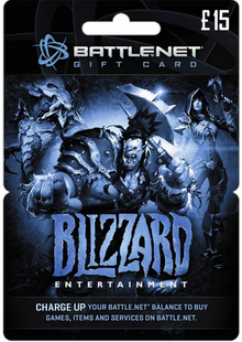 Battlenet 15 GBP Gift Card cheap key to download