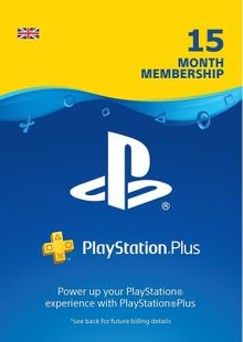 PlayStation Plus - 15 Month Subscription (UK) billig Schlüssel zum Download