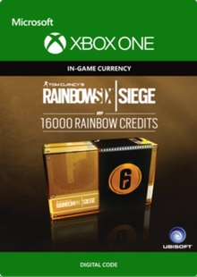 Tom Clancy's Rainbow Six Siege 16000 Credits Pack Xbox One cheap key to download