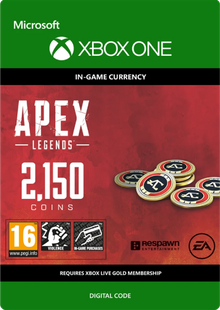 Apex Legends 2150 Coins Xbox One billig Schlüssel zum Download