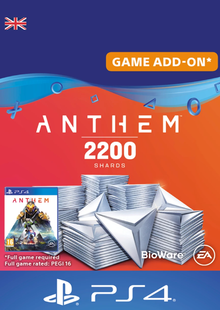 Anthem 2200 Shards PS4 (UK) cheap key to download