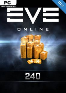EVE Online - 240 Plex Card PC billig Schlüssel zum Download