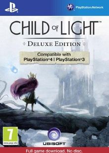 Child of Light Deluxe Edition PS3/PS4 - Digital Code cheap key to download