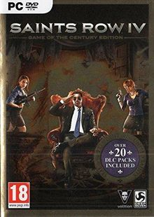 Saints Row 4: Game of the Century Edition PC cheap key to download