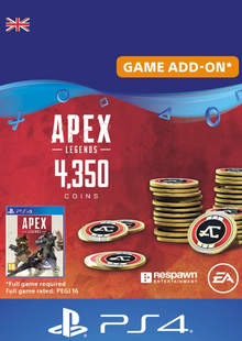 Apex Legends 4350 Coins PS4 (UK) cheap key to download