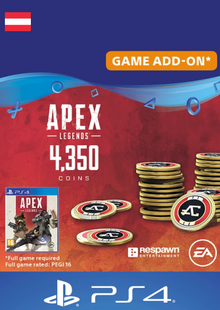 Apex Legends 4350 Coins PS4 (Austria) cheap key to download