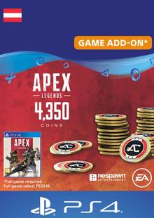 Apex Legends 4350 Coins PS4 (Austria) billig Schlüssel zum Download