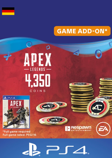 Apex Legends 4350 Coins PS4 (Germany) cheap key to download