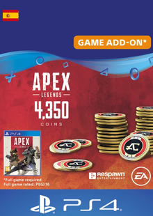 Apex Legends 4350 Coins PS4 (Spain) cheap key to download