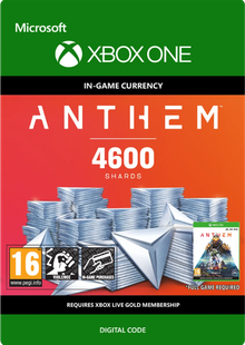 Anthem 4600 Shards Pack Xbox One billig Schlüssel zum Download