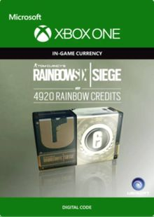 Tom Clancy's Rainbow Six Siege 4920 Credits Pack Xbox One cheap key to download