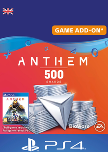 Anthem 500 Shards PS4 (UK) cheap key to download