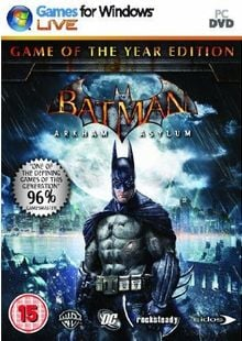 Batman : Arkham Asylum - Game Of The Year Edition (PC) cheap key to download