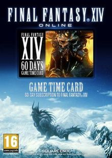 Final Fantasy XIV 14: A Realm Reborn 60 Day Time Card PC cheap key to download