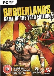 Borderlands: Game of the Year Edition PC (EU) billig Schlüssel zum Download
