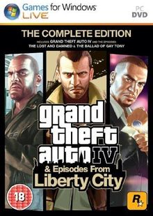 Grand Theft Auto IV 4: Complete Edition PC billig Schlüssel zum Download