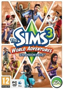 The Sims 3: World Adventures - Expansion Pack (PC/Mac) clé pas cher à télécharger