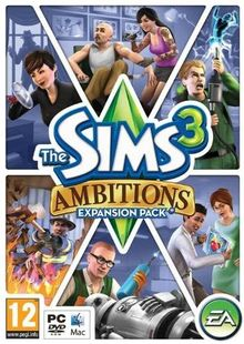 The Sims 3: Ambitions (PC/Mac) cheap key to download