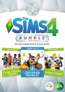 The Sims 4 Bundle Pack 2 PC cheap key to download