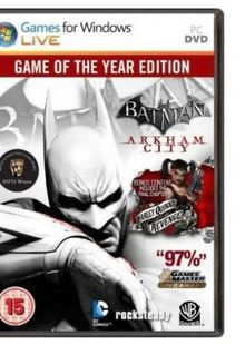 Batman Arkham City GOTY (PC) cheap key to download