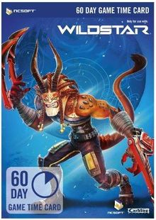 WildStar 60 Day Game Time Card PC billig Schlüssel zum Download