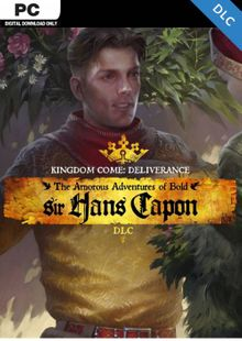 Kingdom Come Deliverance PC – The Amorous Adventures of Bold Sir Hans Capon DLC clé pas cher à télécharger