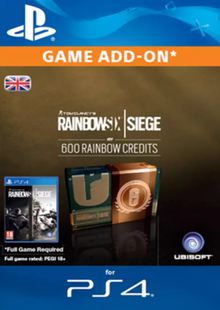 Tom Clancy's Rainbow Six Siege 600 Credits Pack (UK) cheap key to download
