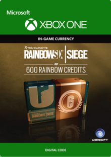 Tom Clancy's Rainbow Six Siege 600 Credits Pack Xbox One billig Schlüssel zum Download