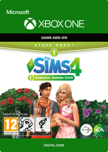 The Sims 4 - Romantic Garden Stuff Xbox One clé pas cher à télécharger