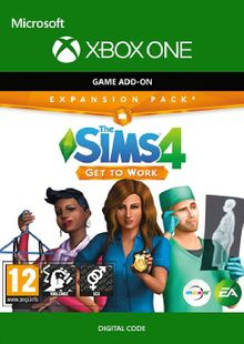 The Sims 4: Get to Work Xbox One cheap key to download