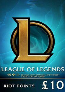 League of Legends 1520 Riot Points (EU - West) cheap key to download