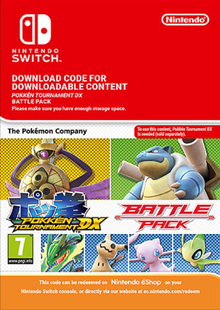 Pokken Tournament DX Battle Pack Switch clé pas cher à télécharger