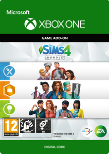 The Sims 4 - Bundle 3 Xbox One clé pas cher à télécharger