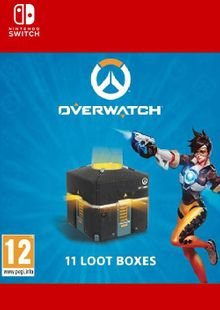 Overwatch - 11 Loot Boxes Switch (EU) clave barata para descarga