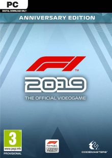 F1 2019 Anniversary Edition PC cheap key to download